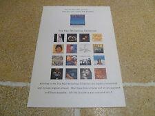 Paul McCartney Paul Is Live Promotional Card/Flyer Beatles