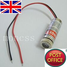 NEW 650nm 5mW Red Laser Line Module Focus Adjustable Laser Head 5V