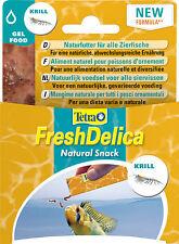 Tetra Fresh Delica Krill 48g, 16x3g, Spezialfutter für alle Zierfische Gelfutter
