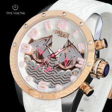 TechnoSport Women's Swiss Quartz Multifunction Silicone Strap Watch TS-100-5SEA