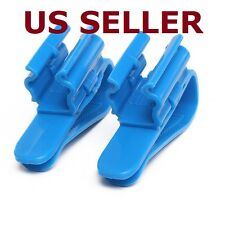 2x Aquarium Fish Tank Mount Water Tube Hose Holder For 8-25mm Pipe Filtration