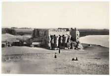 c.1857  PHOTO EGYPT FRITH KOUM OMBO FROM THE NORTH EAST