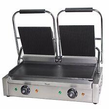 Double PANINI PRESSE Machine Électrique Commerciale twin contact grill Pannini maker