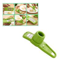 1Pc Garlic Grater Multi-used Ginger Grinder Mini Planer Cutter Kitchen Cook Tool