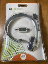 XBox 360 Live Headset by Microsoft *BRAND NEW SEALED*