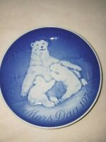 1974  Bing & Grondahl B&G Porcelain Mothers Day Plate