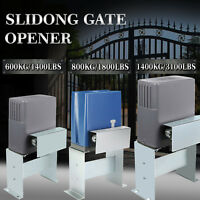 Sliding Gate Opener 1400/1800/3100/3300 LBS Electric Rolling Stop Door Automatic