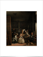 DIEGO VELAZGUEZ LAS MENINAS LIMITED EDITION BIG BORDERS ART PRINT 18X24 baroque