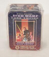 1995 STAR WARS DARK EMPIRE METAL EMBOSSED COLLECTOR CARDS SEALED MIB