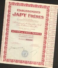 JAPY Frères, Horlogerie (M)