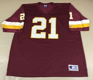 Vintage Washington Redskins Deion Sanders #21 Football-NFL Champion Jersey Sz48