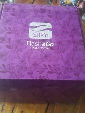 Silk'n Flash & Go Epilator Hair Removal System for Body, Face, Legs, Bikini NEW