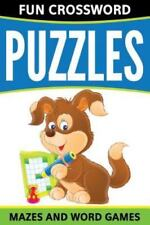 Fun Crossword Puzzles, Mazes and Word Games (Paperback or Softback)