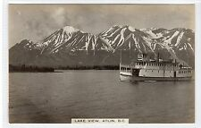 LAKE VIEW, ATLIN: British Columbia Canada postcard (C21429)