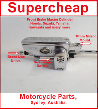 Brake Master Cylinder, suits, Honda, Kawasaki, Yamaha, Suzuki and many more.