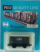 Peco - N Gauge - NR-43M - Box Van - LMS - Grey