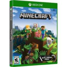 Brand New Minecraft Xbox One 4K Ultra HD With Explorer Pack FREE SHIPPING!!