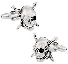 Skull & Swords Cufflinks Direct from Cuff-Daddy