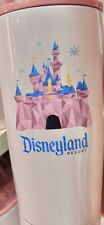 2021 Disney Parks Pink Starbucks Disneyland Tumbler Coffee Cup Mug Lid Straw New