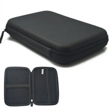 "7"" Black Pouch Hard bag Case for 6"" 7"" GPS PAD Tablet Samsung Galaxy tab P1000"