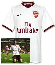 Raro Nuevo Nike Arsenal Club de fútbol Herbert Chapman camisa blanca 2007/08 XL