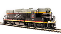 BROADWAY LIMITED 5784 HO SD7 CB&Q 301 Way of the Zephyrs Paragon3 Sound/DC/DCC