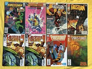 Lot of 8 Firestorm (2nd Series) #59 61 93 95 (3rd Series) 5 24 26 VF Very Fine