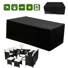 Waterproof Furniture Set Cover Heavy Duty 6 10 Seater Rattan Cube Outdoor  Garden