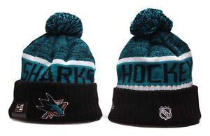 San Jose Sharks New Era Beanie NHL Hat Cap Knit Adult Size