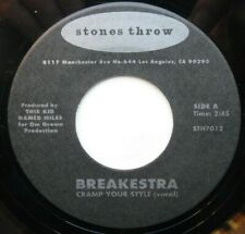 Breakestra - Cramp Your Style / Stones Throw Records 2001 USA Soul Funk 45 rpm
