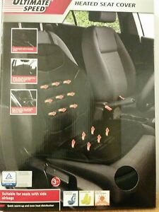 Heated seat cover