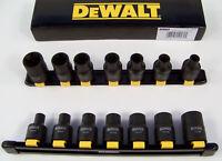 "DeWalt 7pc 1/2"" Drive FEMALE Impact TORX Socket Set with HOLDER External torque"