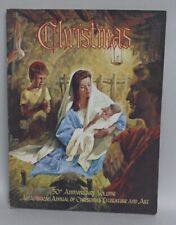 Vintage Christmas Annual Literature & Art Amazing Illustrations 50Th Anniversary