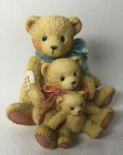 Cherished Teddies Theodore Samantha & Tyler Friends Come In All Sizes Bears