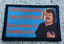 Nacho Libre Taste of the Glory Morale Patch Military Tactical Army USA  Funny