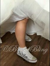 20% OFF *PERSONALISED/CUSTOMISED Converse STYLE shoes; WEDDING, Hen do*