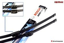 Pair of Front Aero//Flat Windscreen Wiper Blades for BMW 530d 3.0 07//11-Present