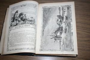 Robinson Crusoe, Mit über 100 Holzschnitten, Carl Zieger, Leipzig