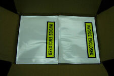 1000x Printed Invoice Enclosed Envelope 115x150mm Document Sticker Pouch