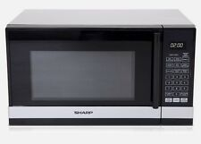 BRAND NEW SHARP 800 WATT COMPACT MICROWAVE OVEN- SILVER