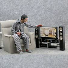 1/6 model The TV VCD Home theater Scene: the furniture