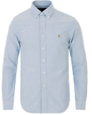 Polo Ralph Lauren Men's Long Sleeve Oxford Shirt, Variety Colors