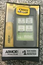 OtterBox Armor Series Waterproof Case for iPhone 4 and 4S Black/Gray - Open Box