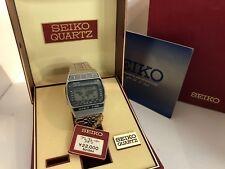 Reloj Cronógrafo Seiko A239-502A Hora Mundial Alarma Cuarzo Lcd Led
