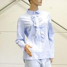 CONLEYS BLUE Bluse mit Rüschen Impressionen Gr. 40