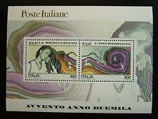 2000  Italia Dittico Avvento Meditazione e Espressione  2 x 800 lire   MNh**