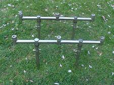 2 x 3 Tige en Acier Inoxydable Goal Post/Buzz Bars & 4 x 15-25 cm Banque Bâtons.