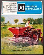 Lely - Precision Broadcaster Spreader Dealer Sales Brochure