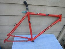 "19"" Vintage Gary Fisher Hoo Koo E Koo Mountain Bike Frame with Extras Orange"
