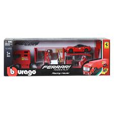 Burago 1:43 Ferrari Racing Hauler Truck Miniature Car
